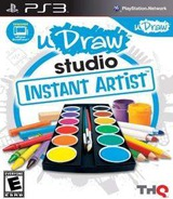 uDraw Studio Instant Artist PS3 cover (BLUS30821)