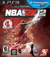 NBA 2K12 PS3 cover (BLUS30830)