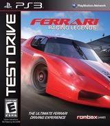Test Drive: Ferrari Racing Legends PS3 cover (BLUS30842)