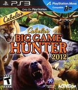 Cabela's Big Game Hunter 2012 PS3 cover (BLUS30843)
