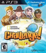 National Geographic Challenge! PS3 cover (BLUS30851)