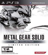 Metal Gear Solid HD Collection PS3 cover (BLUS30906)