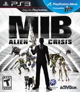 Men In Black: Alien Crisis PS3 cover (BLUS30922)