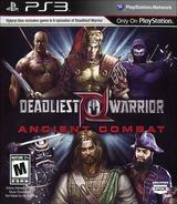 Deadliest Warrior Ancient Combat PS3 cover (BLUS30945)