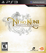 Ni No Kuni: Wrath of the White Witch PS3 cover (BLUS30947)