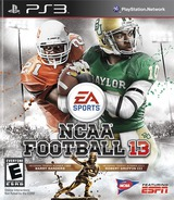 NCAA Football 13 PS3 cover (BLUS30948)