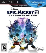 Epic Mickey Two The Power of Two PS3 cover (BLUS30962)
