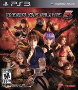 Dead Or Alive Five PS3 cover (BLUS30971)