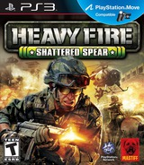 Heavy Fire: Shattered Spear PS3 cover (BLUS31000)