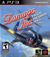 Damage Inc.: Pacific Squadron WWII PS3 cover (BLUS31019)