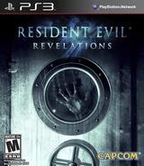 Resident Evil: Revelations PS3 cover (BLUS31051)