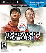 Tiger Woods PGA Tour 14 PS3 cover (BLUS31063)