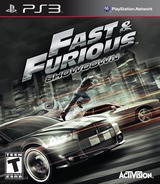 Fast and Furious:Showdown PS3 cover (BLUS31153)