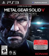 Metal Gear Solid V: Ground Zeroes PS3 cover (BLUS31169)