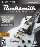 Rocksmith 2014 Edition PS3 cover (BLUS31182)