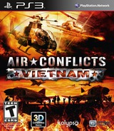 Air Conflicts: Vietnam PS3 cover (BLUS31320)