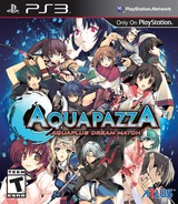 AquaPazza: AquaPlus Dream Match PS3 cover (BLUS31321)