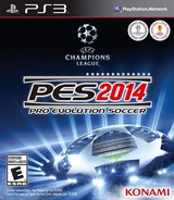 Pro Evolution Soccer 2014 PS3 cover (BLUS31322)