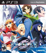 XBLAZE Code: Embryo PS3 cover (BLUS31367)