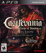 The Castlevania: Lords of Shadow Collection PS3 cover (BLUS31382)