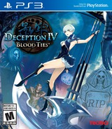 Deception IV: Blood Ties PS3 cover (BLUS31396)