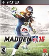 Madden NFL 15 PS3 cover (BLUS31428)