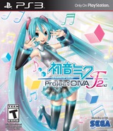 Hatsune Miku: Project F 2nd PS3 cover (BLUS31431)