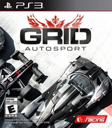 GRID Autosport PS3 cover (BLUS31452)