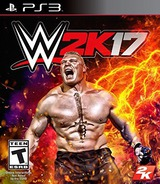 WWE 2K17 PS3 cover (BLUS31599)