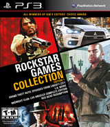 Rockstar Games Collection: Edition 1 PS3 cover (BLUS41006)