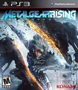 Metal Gear Rising Revengeance (Limited Edition) PS3 cover (BLUS41021)