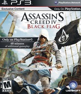 Assassin's Creed IV: Black Flag PS3 cover (BLUS41035)