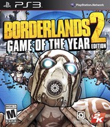 Borderlands 2 PS3 cover (BLUS82001)