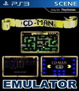 CD-Man Emulator Homebrew cover (CDMAN1234)
