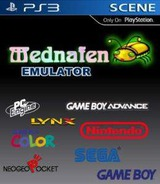 Mednafen Emulator Homebrew cover (MDFN90002)