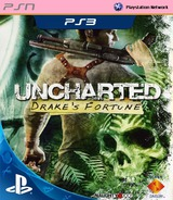 Uncharted: Drake's Fortune PS3 cover (NPEA00363)