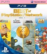 Best of PlayStation Network: Vol. 1 SEN cover (NPEA00372)