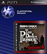 Sam & Max: The Devil's Playhouse Episode 4: Beyond the Alley o'D SEN cover (NPEB00216)