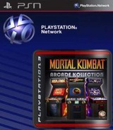 Mortal Kombat Arcade Kollection SEN cover (NPEB00602)