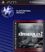 The Expendables 2 Videogame SEN cover (NPEB00923)