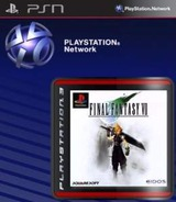 Final Fantasy VII SEN cover (NPEF00069)