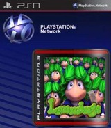 Lemmings SEN cover (NPJA90009)