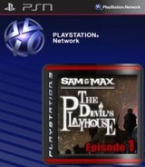 Sam & Max: The Devil's Playhouse Episode 1: The Penal Zone SEN cover (NPUB30185)
