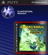 Sam & Max: Beyond Time and Space Episode 4: Chariots of the Dogs SEN cover (NPUB30519)