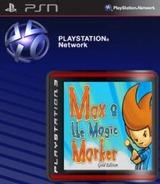 Max & the Magic Marker: Gold Edition SEN cover (NPUB30562)