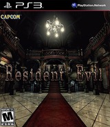 Resident Evil HD Remaster PS3 cover (NPUB31552)