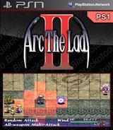 Arc the Lad II SEN cover (NPUJ01252)