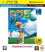 全民高爾夫5 PS3 cover (BCAS20208)