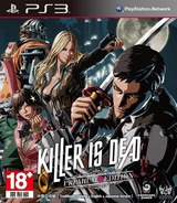 Killer is Dead PS3 cover (BCAS20292)