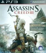 Assassin's Creed III PS3 cover (BLAS50494)